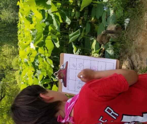 Blake Does the Scavenger Hunt at Kenilworth Aquatic Gardens